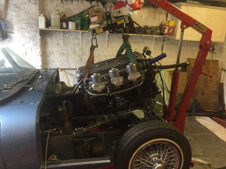 e type engine out